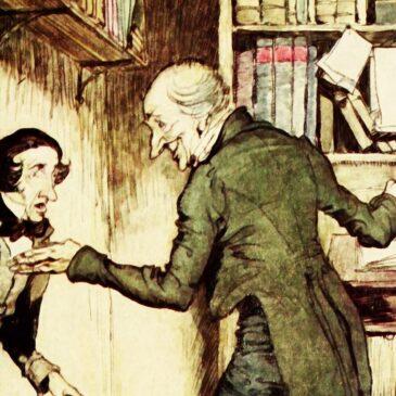Opowieść wigilijna 4. Od węża w kieszeni do serca na dłoni… czyli o przemianie Scrooge'a